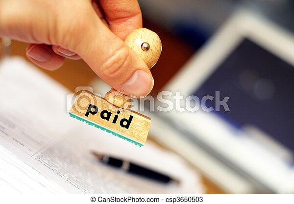 pago - csp3650503