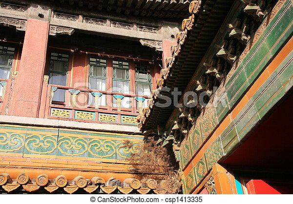pagoda, dettaglio - csp1413335