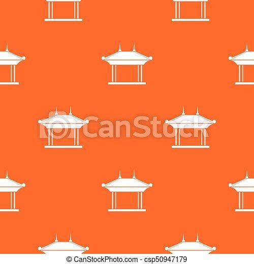 Pagoda pattern seamless - csp50947179