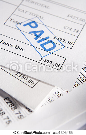 Paid Bills - csp1895465