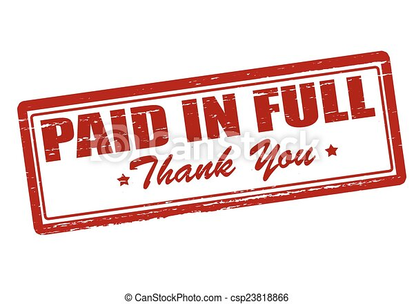 paid in full rubber stamp with text paid in full inside vector rh canstockphoto com pad clipart paid clipart sites