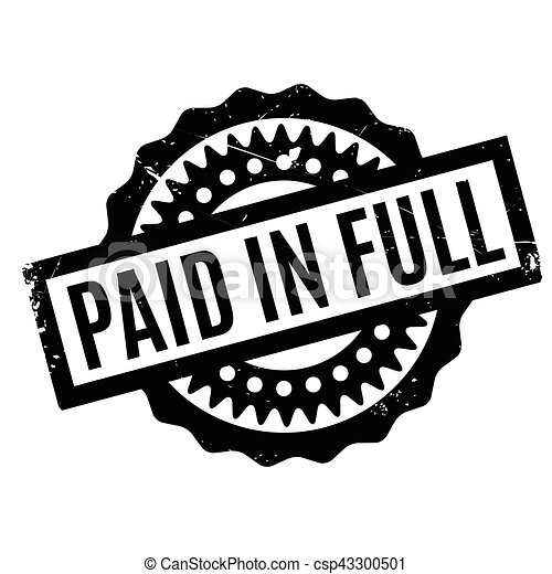 paid in full rubber stamp grunge design with dust vector clipart rh canstockphoto com stamp vector free stamp vector free
