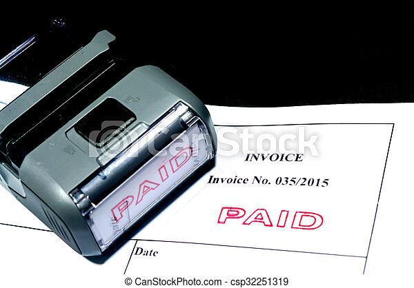 Paid Invoice - csp32251319