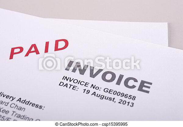 Paid Invoice - csp15395995