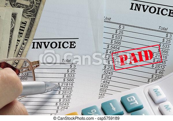 Paid invoice - csp5759189