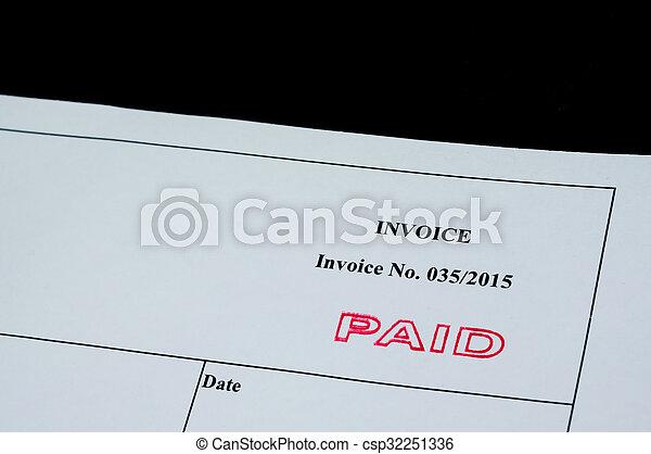 Paid Invoice - csp32251336