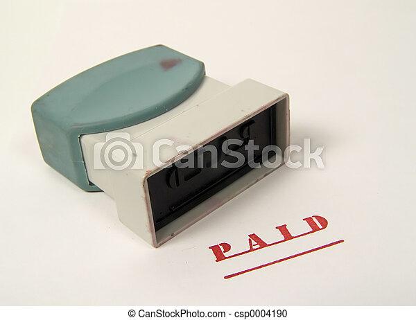 Paid Stamp - csp0004190