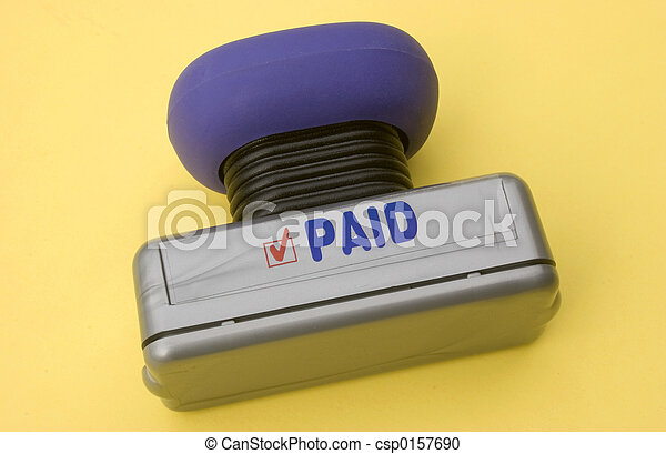 Paid Stamp - csp0157690