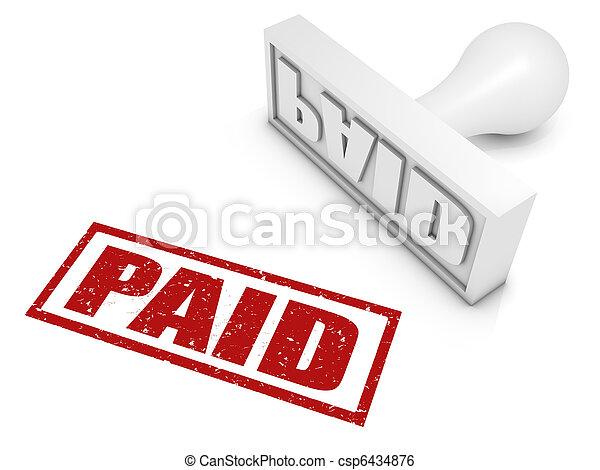 Paid - csp6434876