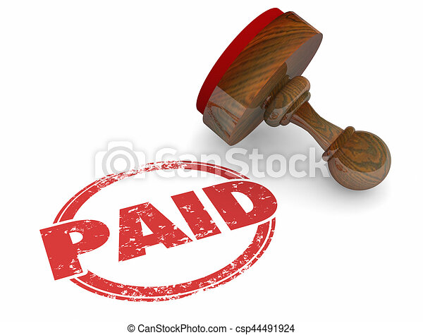 paid word stamp bill invoice payment accounting processed 3d clip rh canstockphoto com paid clipart sites pain clip art