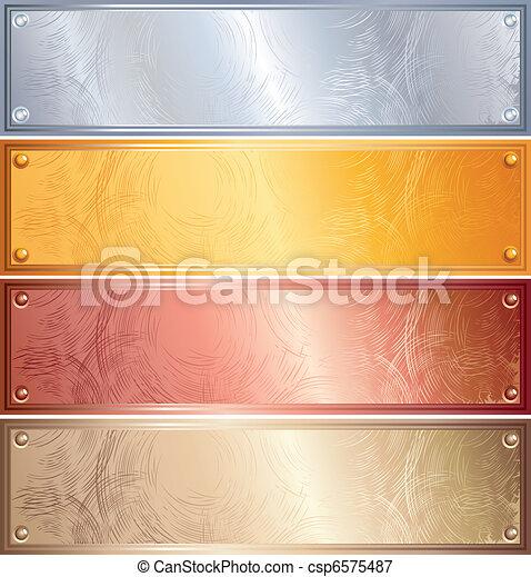 painéis, metálico - csp6575487