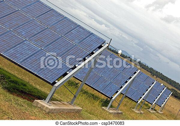 painéis, solar - csp3470083