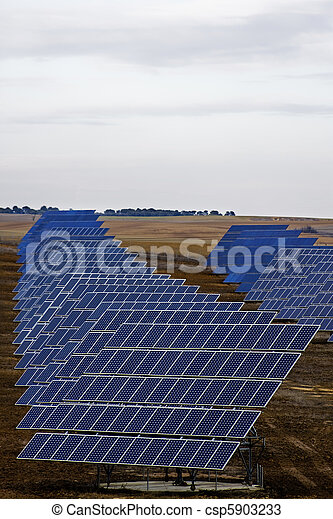 painéis, solar - csp5903233