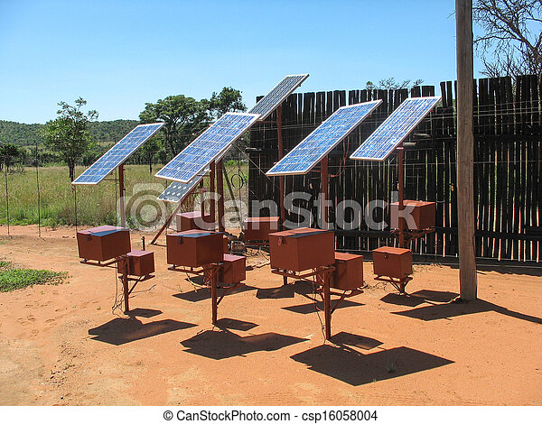 painéis, solar - csp16058004