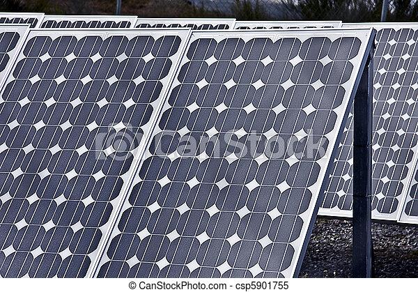 painéis, solar - csp5901755