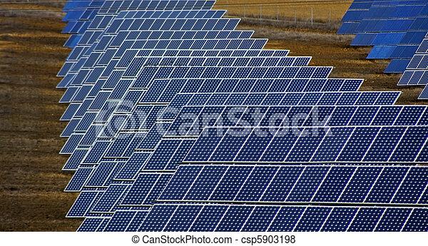 painéis, solar - csp5903198