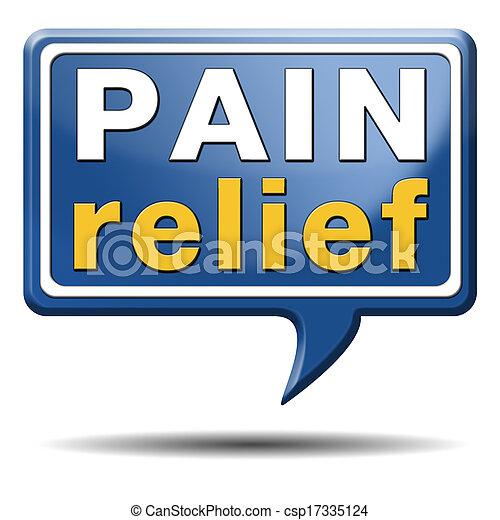 pain relief - csp17335124