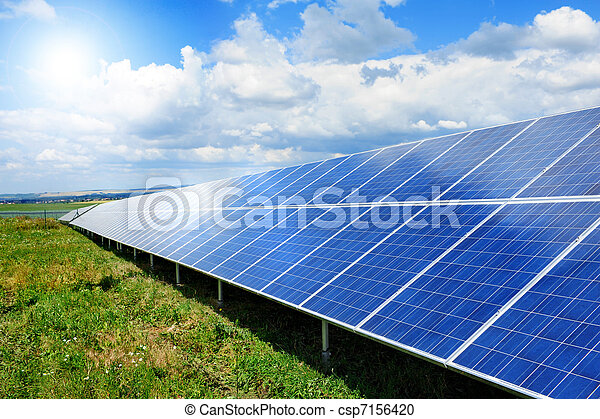painel solar - csp7156420