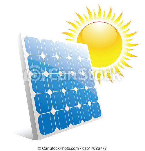 painel solar - csp17826777