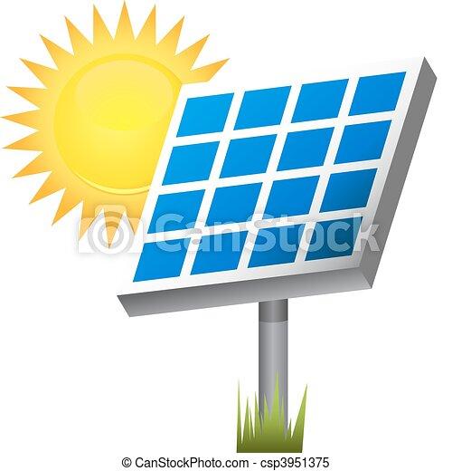 painel solar - csp3951375