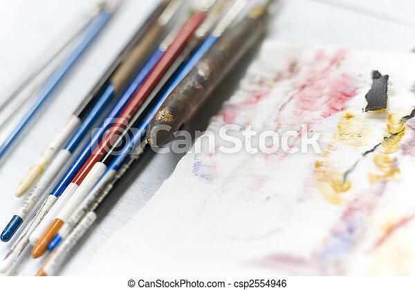 Paint brush - csp2554946