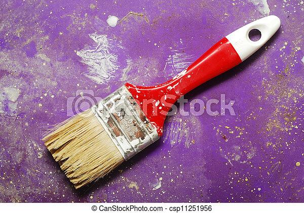 paint brush - csp11251956