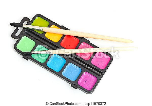 Paint brushes - csp11570372