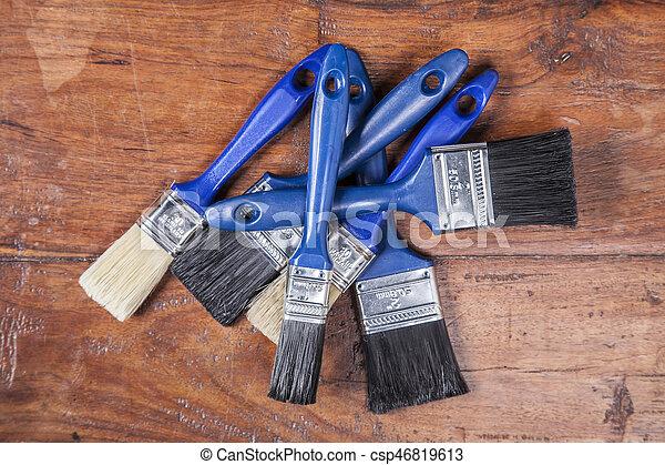 paint brushes - csp46819613