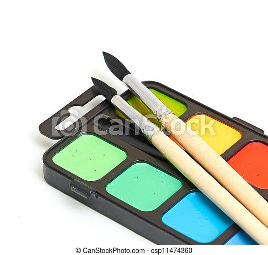 Paint brushes - csp11474360