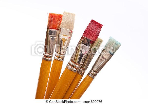 Paint brushes - csp4690076