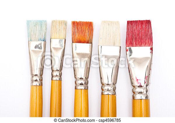 Paint brushes - csp4596785