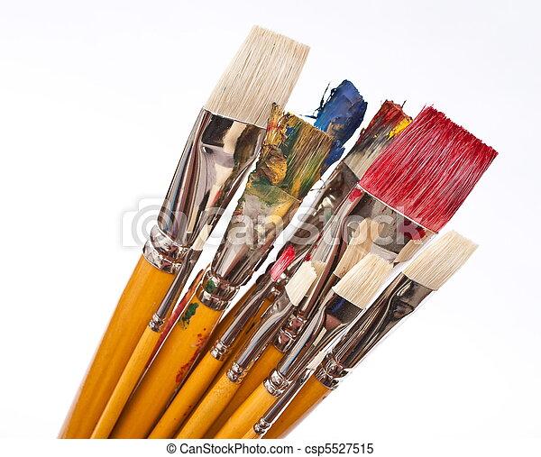 Paint brushes - csp5527515