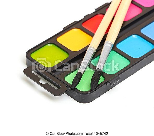 Paint brushes - csp11045742