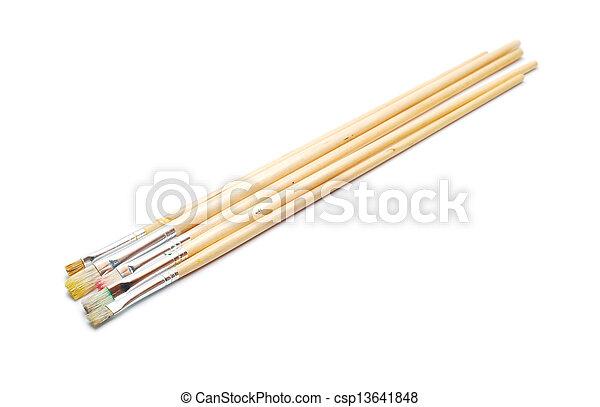 paint brushes - csp13641848