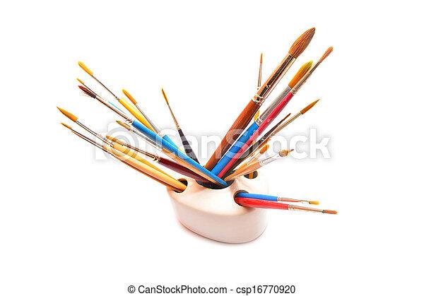 paint brushes - csp16770920