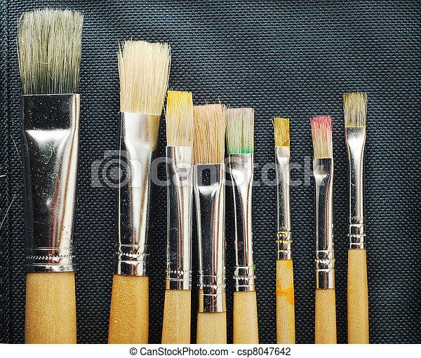 paint brushes - csp8047642