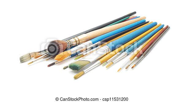 paint brushes - csp11531200