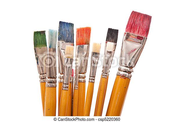 Paint brushes - csp5220360
