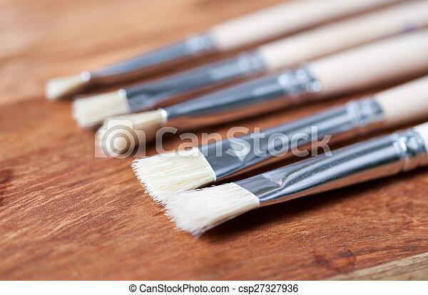 paint brushes - csp27327936