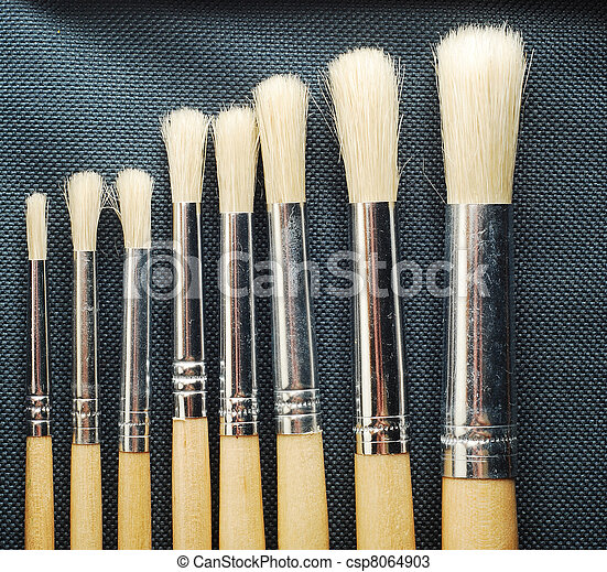paint brushes - csp8064903