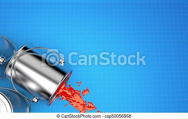 Paint cans - csp50056958