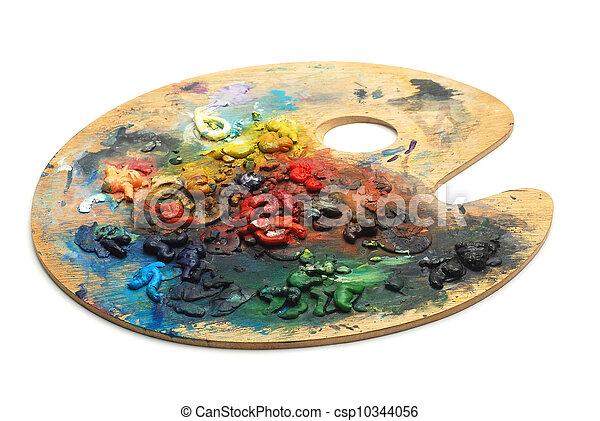paint palette - csp10344056