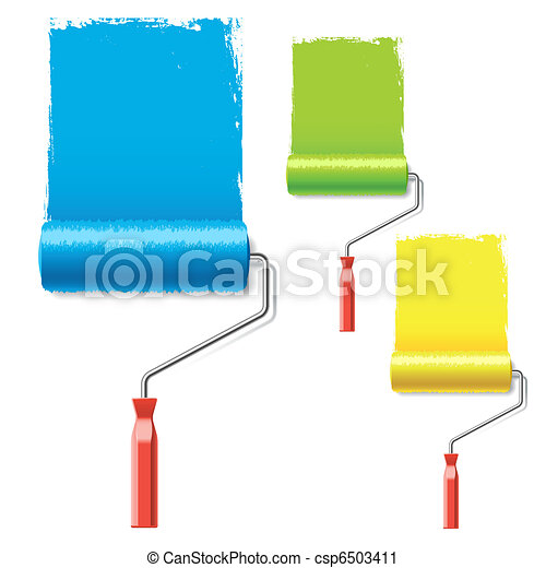 Paint rollers - csp6503411