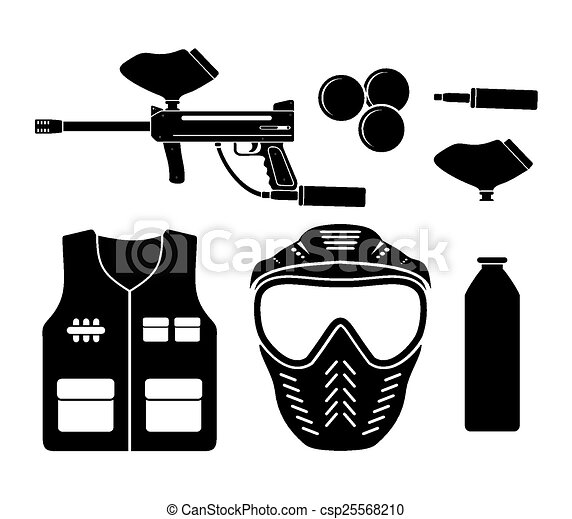 Paintballing Clipart And Stock Illustrations 426 Paintballing