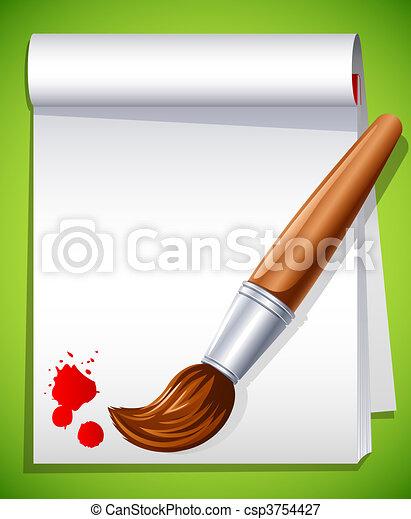 Paintbrush - csp3754427