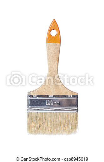 Paintbrush isolated - csp8945619