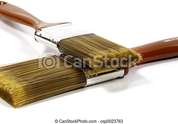 Paintbrushes 2 - csp0023763