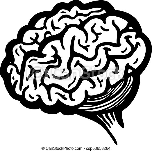 painted brain vector illustration clip art vector search drawings rh canstockphoto com brain clipart vector brain clipart vector