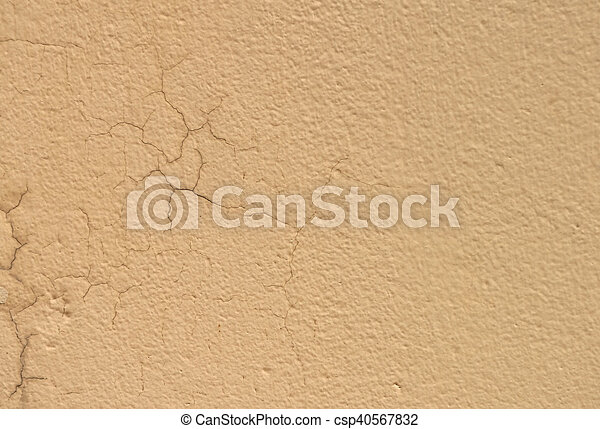 painted cracked wall texture - csp40567832