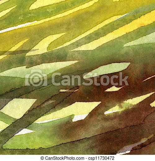 painted watercolor background - csp11730472